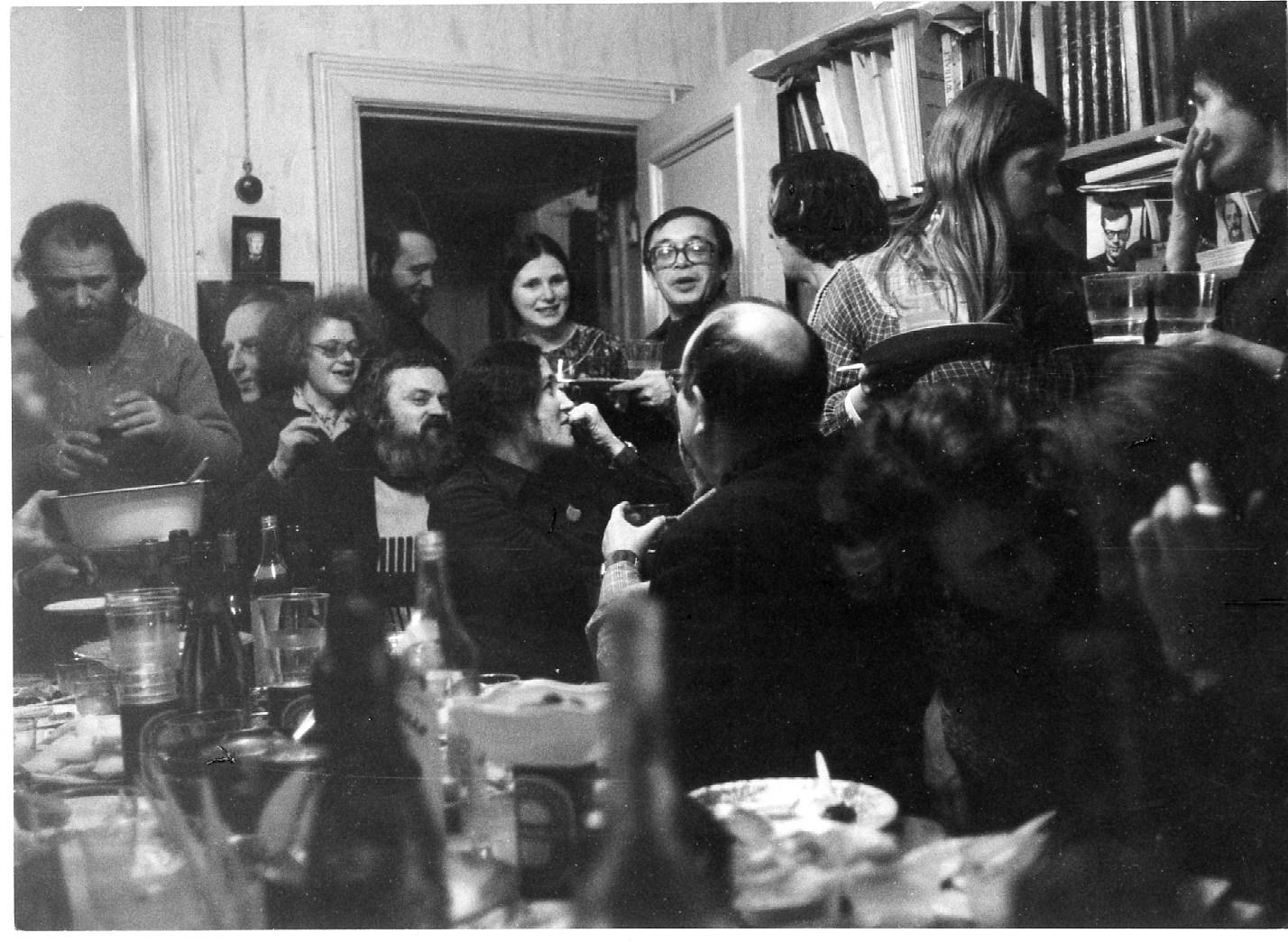 1978 год - проводы Дисы на ул. Сайкина