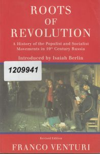 Venturi F. Roots of Revolution