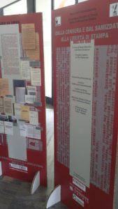 милан, выставка От цензуры и самиздата к свободе печати. СССР, 1917-1990