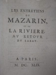 mazarinads